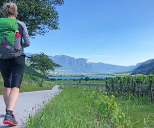 Hiking in Bolzano in South Tyrol