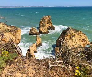Beautiful view over the Algarve coastline