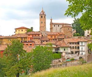Aussicht auf Piemont
