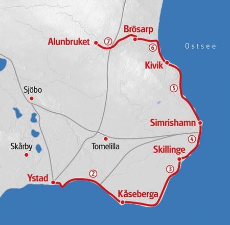 Hiking Oesterlenleden map