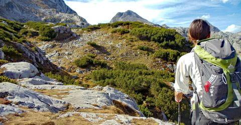 Trekkingtouren im Dachsteingebiet