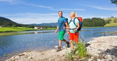 Wanderer im Chiemgau
