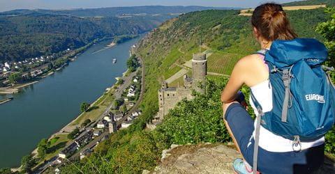 Wanderer am Rheinsteig