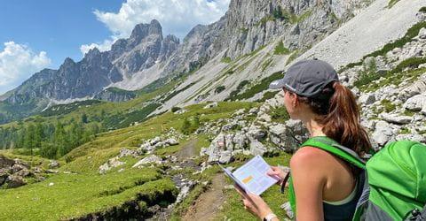 Wandern im Dachsteingebirge