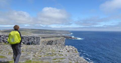 Wanderausblick Aaran Islands