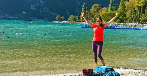 Wanderin am Gardasee