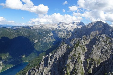 View of Dachstein and Gosausee