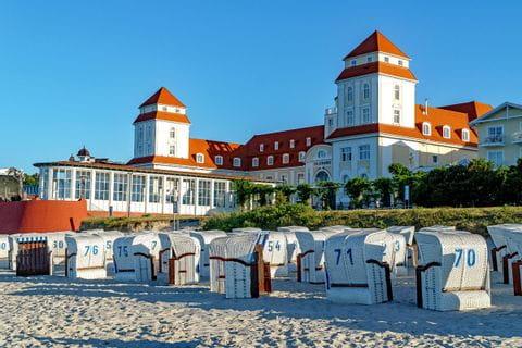 Baltic seaside resort in Ruegen