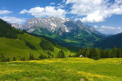 Bergpanorama in den Bayrischen und Salzburger Alpen