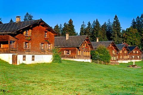 Enchanting cottages at the Bregenz Forest