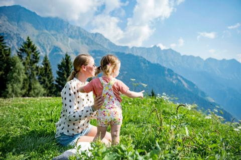 Walking tours with kids in South Tyrol