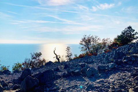 """Scenic views on the """"Rilke-path"""" in Friuli-Venezia Giulia"""