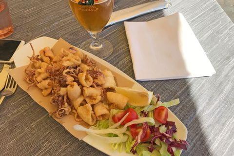 Calamari fritti in Alassio