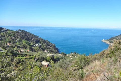 Mediterranean hikes with seaview