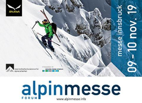 Flyer der Alpinmesse Innsbruck 2019