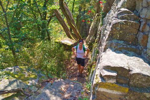 Wanderer am Seekopf in der Wachau