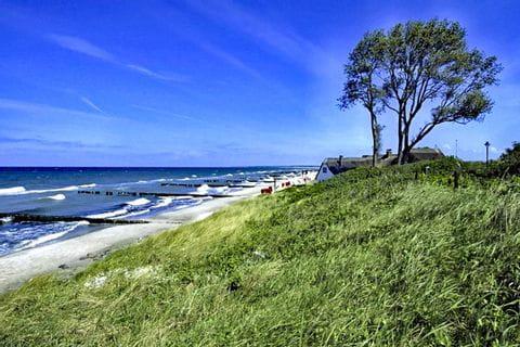 Beautiful beach at the Baltic Sea