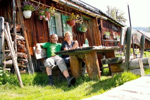 Traditionelle Lungauer Alm