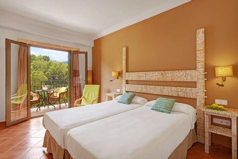Schöne Zimmer im Hotel Es Port