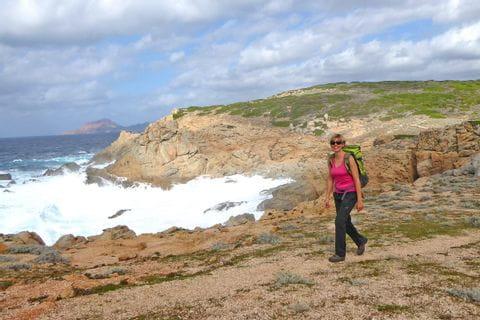 Omigna auf Korsika - Kuestentrekking mit Eurohike