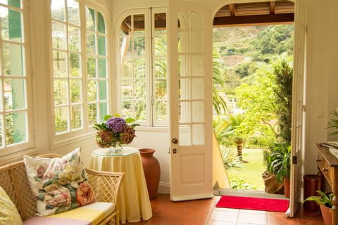 Sitzecke im Hotel Casa da Piedade auf Madeira