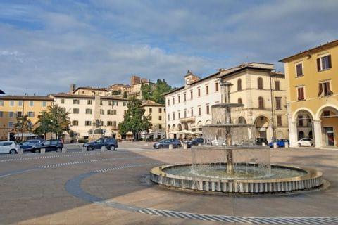 Etappenziel der Wanderreise in der Toskana