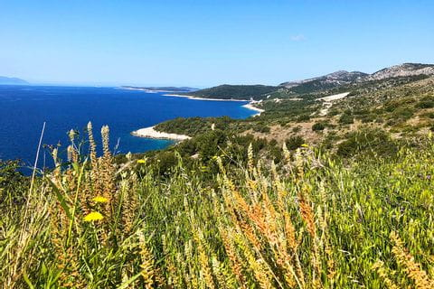 Kroatische Insel-Küste