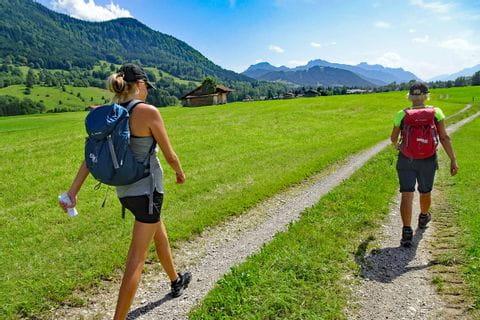 Wanderer in Bayern