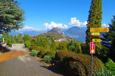 Wandern in Carona Parco san Grato