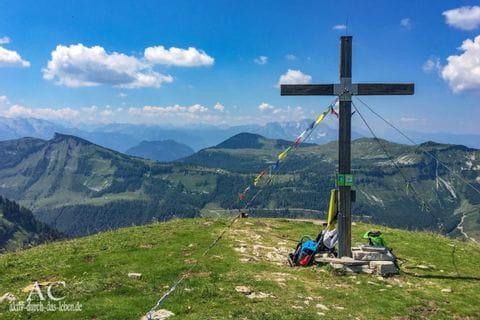 Gipfelkreuz im Salzkammergut
