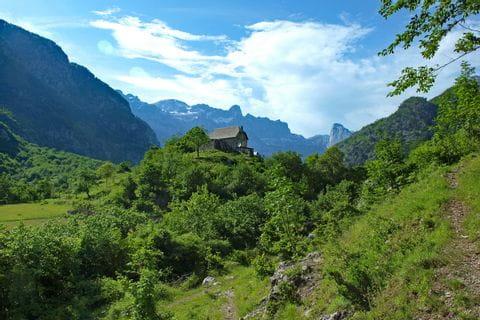 Unspoilt trails in Albanias mountain range