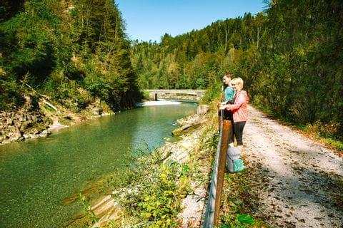 Hiking at the Achtalweg