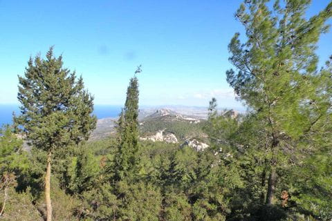Unique panorama in Cyprus