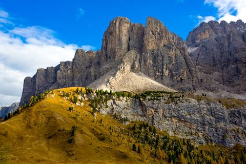 Rugged peaks of the Dolomites