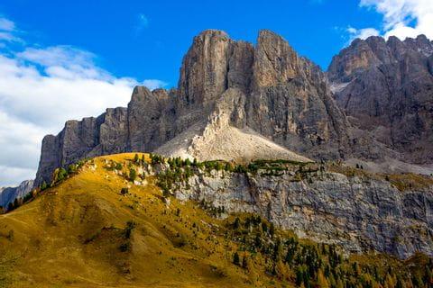 Rugged peaks of the Dolomites