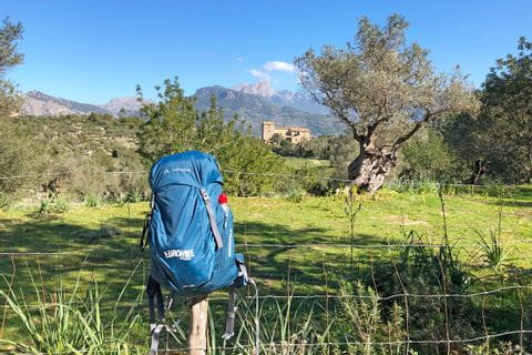 Eurohike backpack with drinking bottle