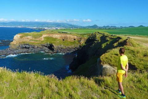 Meerblick auf den Azoren