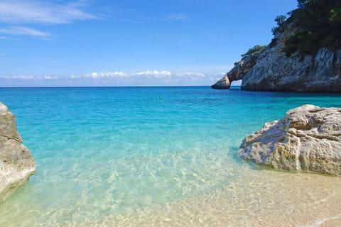 Strand bei Cala Goloritzé