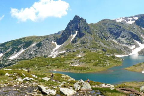 Hiking in the Rila mountains