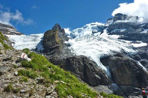 Gorgeous Blüemlisalp in the Bernese Alps