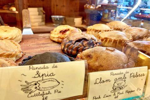 Empanadas in Palma de Mallorca