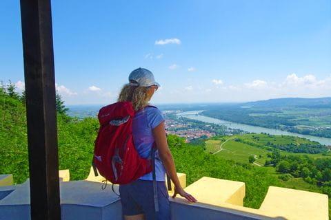 Wanderin on the Donauwarte