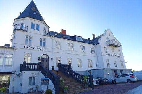 Blick aufs Grand Hotel in Moelle
