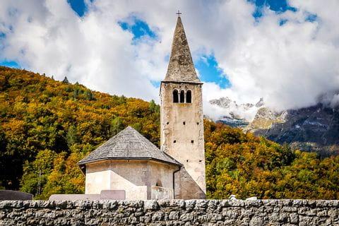 Impressionen einer Kirche in Südtirol