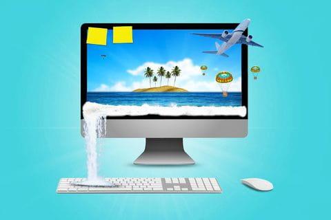 Wanderreise mit dem Computer planen