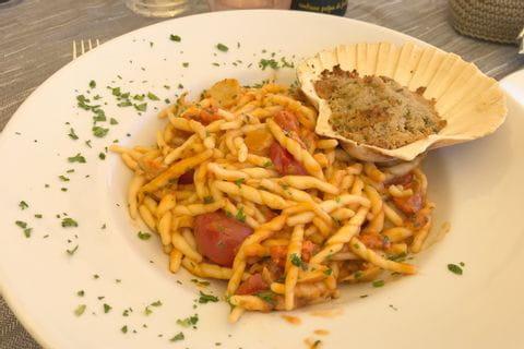 Pasta mit Meeresfrüchten