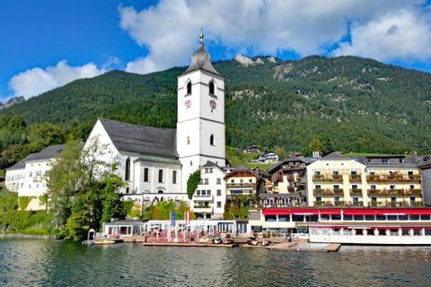 Fascinating hikes in St. Wolfgang at lake Wolfgangsee