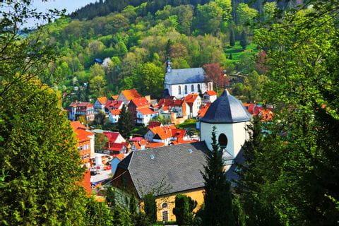 Kirchen in Ruhla am Rennsteig