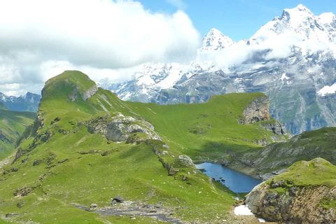Beeindruckende Landschaft in den Berner Alpen