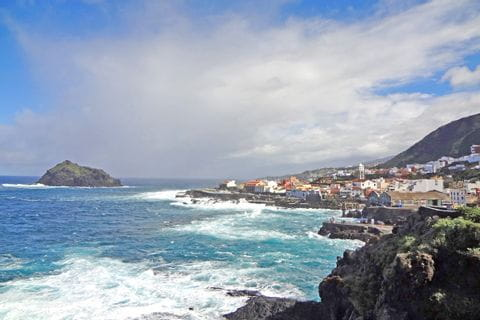 Spectacular coastal views while hiking at Garachico